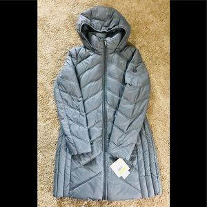 MICHAEL KORS packable downfill coat